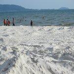 Kep: sandy beach