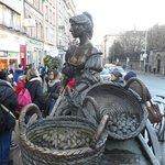 Popular statue