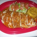 Steamed Red Snapper on a Beer & Wine Reduction Sauce
