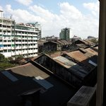View from 5th floor room, Panorama hotel