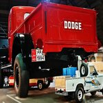 GIANT DODGE PICK UP TRUCK