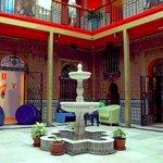 Lobby of the hostel