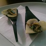 Cupid's wild mushroom ravioli with mushroon jus.