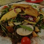 salade à la tomme de Vaumadeuc