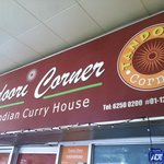 Tandoori Corner - look for this sign