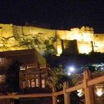 1st Floor Restaurant mit Meharanghar Fort