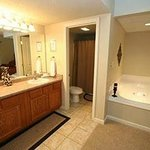 Master King Bedroom with Jacuzzi and bathroom