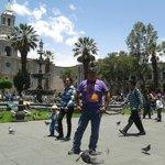 Un lindo día en Arequipa.