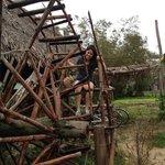 The waterwheel!