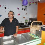 Carlos, chef, owner & friend