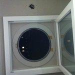 fenêtre salle de bains
