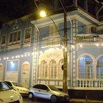 fachada a noite...bonita