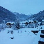 Di primo mattino dopo una bella nevicata...