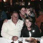 My beautiful daughters and grandson