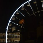 ferries wheel in main square from the hostel