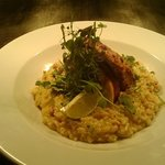 Peri Peri Chicken and saffron risotto