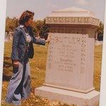 Belle Butler's Grave Stone