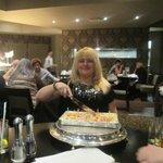 my birthday suprise cake