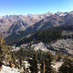View from Franklin pass, Sequoia Park