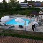 Pool - Thermalbad.  Mit vielen Düsen und anderen Extras