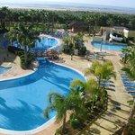 Vistas desde el apartamento en el hotel Playa Marina (Huelva