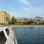 Looking towards Ka'anapali Beach