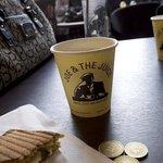 sanduiche e café!