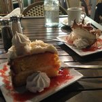 Key Lime cake and Key Lime pie: decisions, decisions