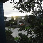 Una hermosa vista desde la casa Kalfú