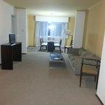 Esta es la suite del hotel que me dieron despues de haberme dado la habitacion 1007 en pesimo es
