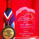 2014 Best in Show Springport