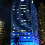 le bâtiment de nuit