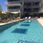 Great pool.