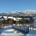 Bilde fra Hovden Fjellstoge