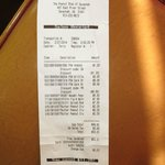 Receipt.  Showing buy 2 get 1 free of the nuts.