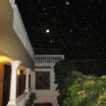 Moon over Casa La Fe