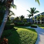 Hotel courtyard. Beautiful!
