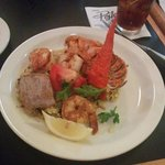 Colossal Shrimp and Pacific Lobster