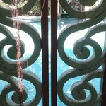 gate to community pool