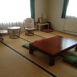 Second guest room is Japanese style and has three futons.