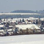 panoramisch uitzicht op Nesselwang