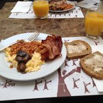 Breakfast at savic