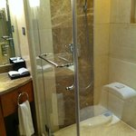 A photo of the shower enclosure