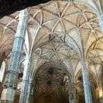 Interior do Mosteiro - Detalhe do teto