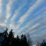 An amazing sky in Port Townsend.