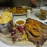 T-Bone Steak at Newpark