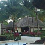 zona de piscina y playa