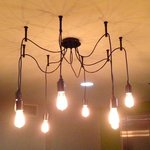 Another neat light fixture by our elevators.