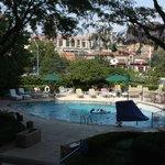 Pool deck area - Summer