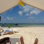 Plage de Rocky Cay